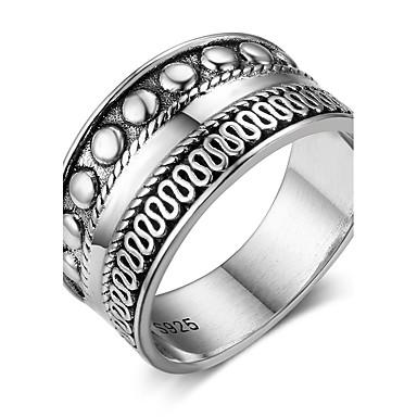 Pentru femei Band Ring Γεωμετρικά Plastic Geometric Shape Costum de bijuterii Zi de Naștere Cadou