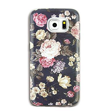 Maska Pentru Samsung Galaxy S8 Plus S8 Model Carcasă Spate Floare Moale TPU pentru S8 Plus S8 S7 edge S7 S6 edge plus S6 edge S6 S6