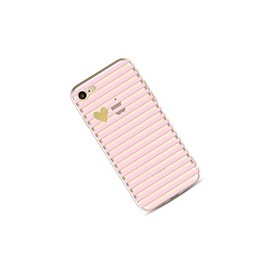 Per Custodia iPhone 8 Con Morbido Fantasia iPhone disegno TPU Apple iPhone Con onde iPhone Per retro Transparente cuori 06317743 X Plus X Glitterato 8 per 8 iPhone IPqrIzw