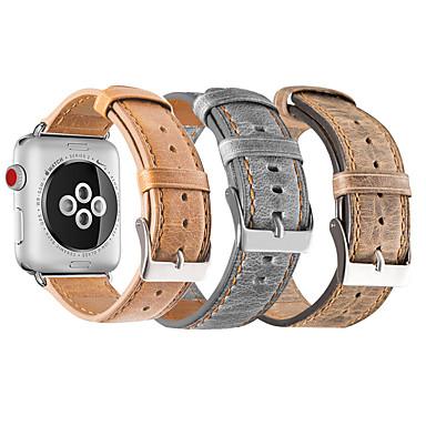 Bracelet de Montre  pour Apple Watch Series 3 / 2 / 1 Apple Bracelet Sport Vrai Cuir Sangle de Poignet