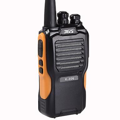 365 K-306 Walkie Talkie Handheld 5KM-10KM 5KM-10KM 3800mAh 8W Walkie Talkie Two Way Radio