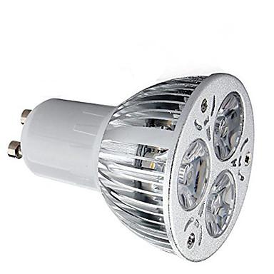 HRY 1pc 9 W 600 lm GU10 LED reflektori 3 LED zrnca Visokonaponski LED Ukrasno Toplo bijelo / Hladno bijelo 85-265 V / 1 kom. / RoHs