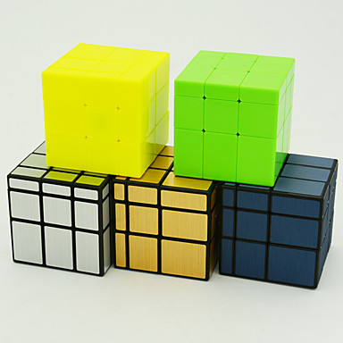 Rubik's Cube QIYI 154 Mirror Cube 3*3*3 Smooth Speed Cube Magic Cube Puzzle Cube Gift Unisex