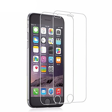 ieftine Protectoare Ecran de iPhone 6s / 6-AppleScreen ProtectoriPhone 6s High Definition (HD) Protector ecran 2 buc Sticlă securizată / 9H Duritate / 2.5D Muchie Curbată / Ultra Subțire