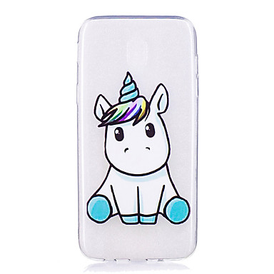 coque pour samsung galaxy j5 2017 j3 2017 transparente motif coque licorne flexible tpu. Black Bedroom Furniture Sets. Home Design Ideas