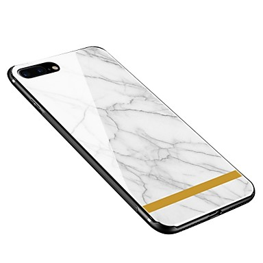 8 X iPhone iPhone disegno Morbido X temperato 8 Effetto Fantasia iPhone Plus Plus Custodia retro iPhone marmo Apple Vetro Per 06392617 Per per wIHnOWFqtX