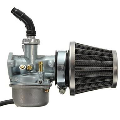 ieftine Motociclete & ATV-uri-Carburator pz19 carburator și filtru de aer de 35 mm pentru 50cc 70cc 80cc 90cc 110cc 125cc dirt pit bike Taotao Honda CRF ATV scooter moped go karts