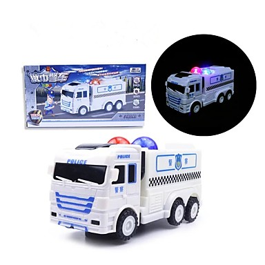 LED Lighting Police car Toys Toy Shape Holiday Music Birthday Lighting Voice Electric Classic Pieces