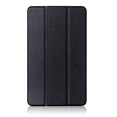 halpa Tablettikotelot-Etui Käyttötarkoitus Huawei Suojakuori / tabletti Kotelot Kova PU-nahka varten Huawei MediaPad T3 7.0