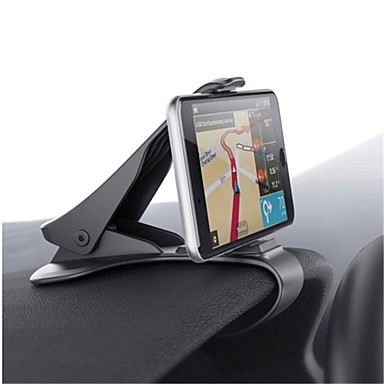 billige Telefonholder-Automotive Universell / Mobiltelefon Monter stativholder Kontrollbord Universell / Mobiltelefon Spenne Type Plast Holder