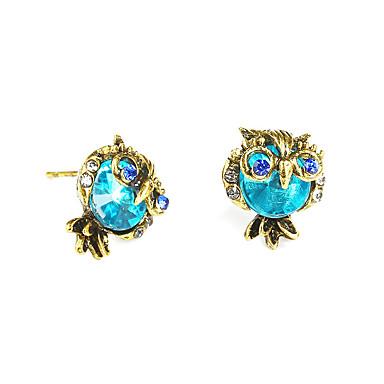 Stud Earrings Jewelry & Accessories Dream Candy Cute Vintage Rhinestone Owl Earrings For Women Creative Jewelry Stud Earrings Fashion Animal Earring Accessories