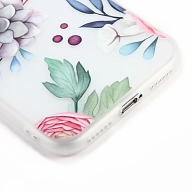 Decorazioni Morbido Cartoni animati TPU iPhone 06453362 iPhone Per in disegno Custodia Fiore 6 Apple decorativo retro rilievo per 7 Fantasia Per waTx8Z