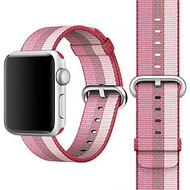 Horlogeband voor Apple Watch Series 4/3/2/1 Apple Klassieke gesp Nylon Polsband