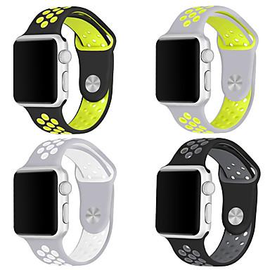 Watch Band na Apple Watch Series 3 / 2 / 1 Apple Pasek sportowy Silikon Opaska na nadgarstek