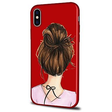 Plus Sexy Custodia animati 8 8 retro iPhone Morbido Cartoni iPhone iPhone Plus 06460825 8 iPhone X TPU Apple Per per disegno Fantasia Per X iPhone YwqrYP