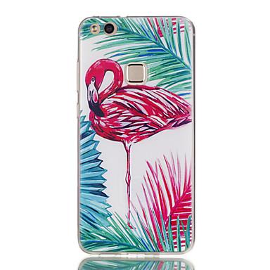 voordelige Huawei Y-serie hoesjes / covers-hoesje Voor Huawei Honor 7 / Huawei P9 Lite / Huawei Honor 5C P10 Lite / P10 / Huawei P9 Lite Ultradun / Patroon Achterkant Flamingo Zacht TPU