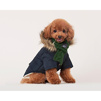 Cat Dog Dog Scarf Dog Clothes Stylish Casual/Daily Keep Warm Solid Red Green Costume For Pets
