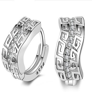 3982797dd0fc1 cheap Earrings-Women  039 s Cubic Zirconia tiny diamond Hoop Earrings Gold  Plated