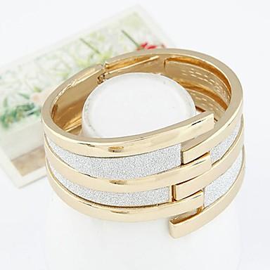 economico Bracciali-Per donna Braccialetti Bracciali a polsino impilabile Importante Donne Vintage Di tendenza Lega Gioielli braccialetto Oro Per Regalo Per uscire
