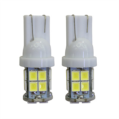 LORCOO 2pcs T10 Araba Ampul 2 W 40 lm LED İç Işıklar Uyumluluk / 8000