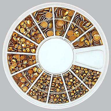 1 pcs Nail Jewelry Mevye / Çiçek / Soyut Sevimli Günlük / Karikatür / Punk / Metal