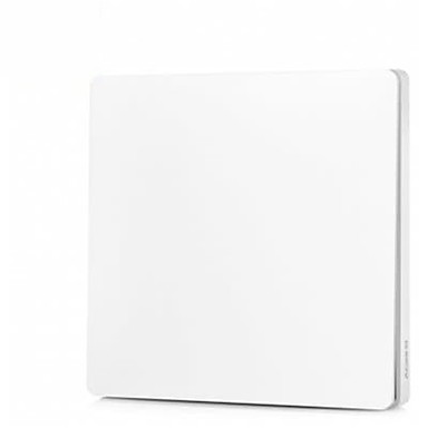 cheap Smart Switch-Xiaomi Aqara Light Control - MILK WHITE Fire Wire and Zero Line Single Key Version / ZigBee Wireless