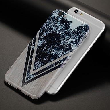 케이스 제품 Apple iPhone X iPhone 8 패턴 뒷면 커버 나무결 나무 소프트 TPU 용 iPhone X iPhone 8 Plus iPhone 8 iPhone 7 Plus iPhone 7 iPhone 6s Plus iPhone 6s