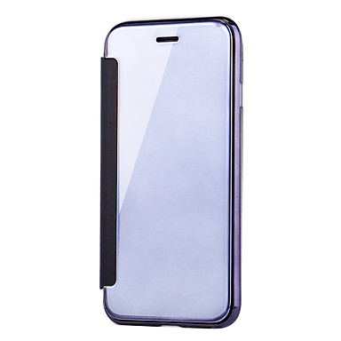 A sportello Con magnetica Per specchio 8 Con iPhone Custodia Apple Transparente Tinta Placcato iPhone visore 06509576 unica Integrale X chiusura 6d0wqnvRY