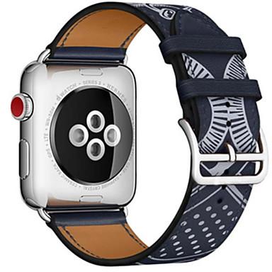 Недорогие Ремешки для Apple Watch-Ремешок для часов для Apple Watch Series 4/3/2/1 Apple Классическая застежка Кожа Повязка на запястье