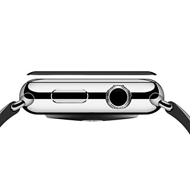 halpa Apple Watch-suojakalvot-Näytönsuojat Käyttötarkoitus iWatch 38mm / iWatch 42mm Karkaistu lasi Räjähdyksenkestävät / 9H kovuus / Teräväpiirto (HD) 1 kpl