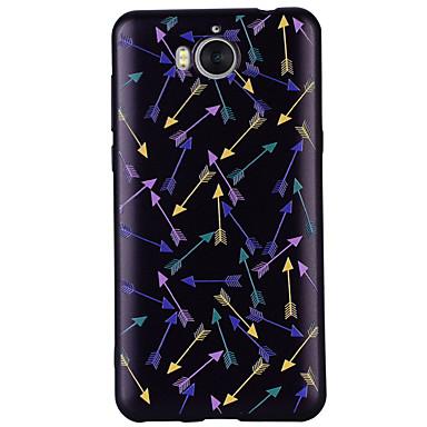 voordelige Huawei Y-serie hoesjes / covers-hoesje Voor Huawei Huawei Y6 (2017)(Nova Young) / Huawei Y5 III(Y5 2017) / Huawei Y3 (2017) Patroon Achterkant Anker Zacht Siliconen