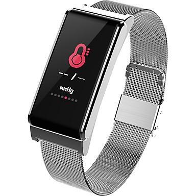 זול שעונים חכמים-YY-CP15 ל Android 4.4 / iOS מודד לחץ דם / כלוריות שנשרפו / מד צעדים / Anti-האבוד / בקרת APP Tracker דופק / מד צעדים / מזכיר שיחות / מד פעילות / מעקב שינה / תזכורת בישיבה / מצאו את המכשירשלי / 512MB