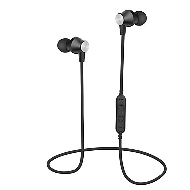cheap Headsets & Headphones-MS-T2 In Ear / Neck Band Wireless Headphones Dynamic Plastic Sport & Fitness Earphone with Volume Control / with Microphone Headset