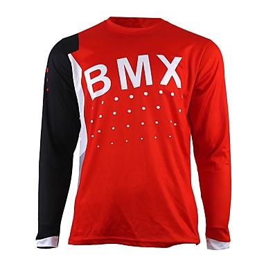 voordelige Motorjacks-wijsheid verlaat motorfiets cross country jersey eigen mountainbike hd downhill cross-country jersey outdoor sporten lange mouwen t-shirt