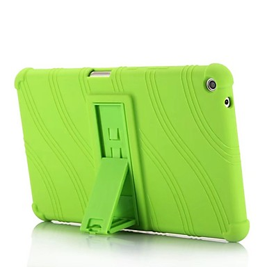 cheap Tablet Cases-Case For HUAWEI Huawei MediaPad T3 8.0 with Stand Back Cover Solid