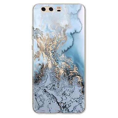 voordelige Huawei Y-serie hoesjes / covers-hoesje Voor Huawei P9 / Huawei P9 Lite / Huawei P8 P10 Plus / P10 Lite / P10 Patroon Achterkant Lijnen / golven / Marmer Zacht TPU / Huawei P9 Plus