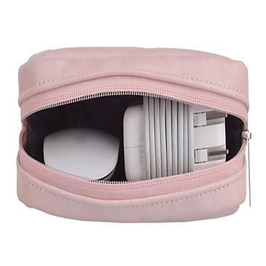 ieftine Carcase Macbook & Genți Macbook & Huse Macbook-Genți de Depozitare Mată / Afacere PU piele pentru Încărcător / Flash Drive / Hard Drive