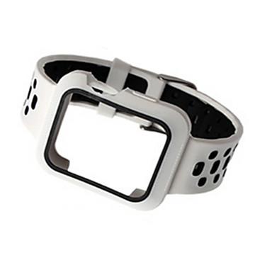 זול רצועות לApple Watch-צפו בנד ל Apple Watch Series 4/3/2/1 Apple רצועת ספורט סיליקוןריצה רצועת יד לספורט