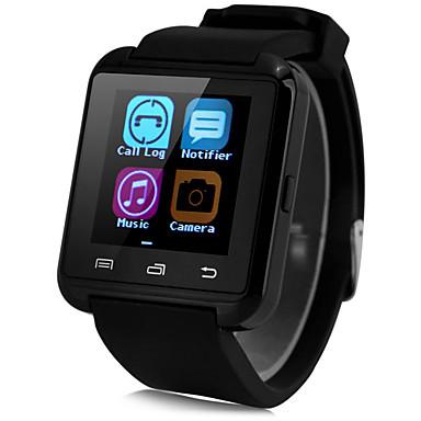 Bluetooth3.0 relógio inteligente pedômetro sono monitorar mensagem de chamada de sincronização para android telefone
