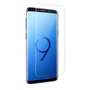 Protetor de Tela Samsung Galaxy para S9 Plus S9 PET 1 Pça. Protetor de Tela Frontal Borda Arredondada 3D Anti Impressão Digital