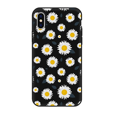 iPhone Plus X Plus disegno TPU X iPhone iPhone decorativo Morbido Fantasia 8 iPhone Apple 8 8 retro Per iPhone Custodia Per 06593421 Fiore per wS1AqA