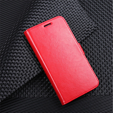 ieftine Carcase / Huse de LG-Maska Pentru LG LG V30 / LG V20 MINI / LG Q6 Portofel / Titluar Card / Întoarce Carcasă Telefon Mată Greu PU piele