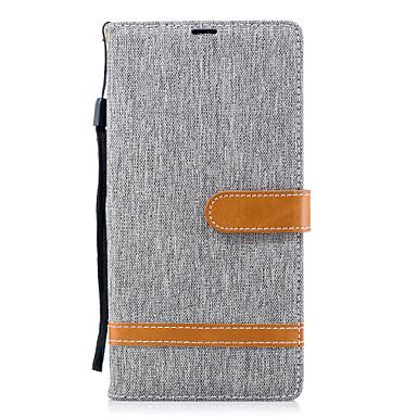 voordelige Hoesjes / covers voor Sony-hoesje Voor Sony Xperia XA2 Ultra / Xperia XA2 / Xperia XZ1 Compact Portemonnee / Kaarthouder / met standaard Volledig hoesje Effen Kleur Hard PU-nahka