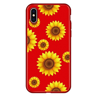Per per retro Morbido iPhone 06593424 Per Custodia iPhone 8 X iPhone 8 Fantasia iPhone decorativo Fiore TPU Apple Plus iPhone Plus X disegno 8 ZvqzO