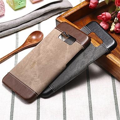 levne Galaxy S6 Pouzdra a obaly-Carcasă Pro Samsung Galaxy S8 Plus / S8 / S7 edge Nárazuvzdorné Zadní kryt Pevná barva Pevné PU kůže