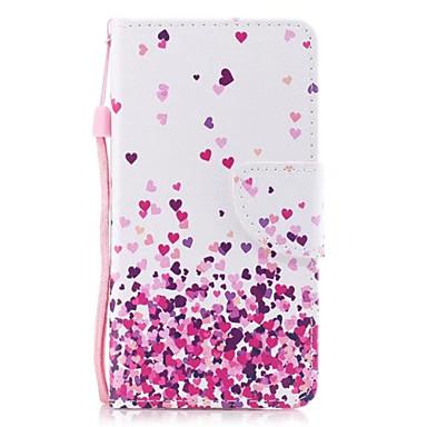 credito A iPhone Porta iPhone 8 Apple Custodia X chiusura Resistente di pelle Con magnetica 06559170 Con portafoglio Integrale Per carte cuori wSvzfqvnpx