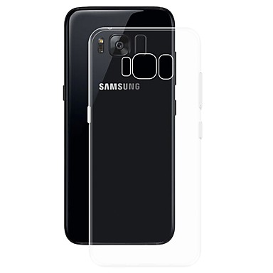 voordelige Galaxy S-serie hoesjes / covers-hoesje Voor Samsung Galaxy S8 Plus Transparant Achterkant Effen Zacht TPU