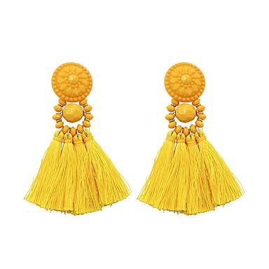 39a171e9403b abordables Pendientes-Mujer Borlas Pendientes colgantes aretes de abanico  Aretes damas Borla Moda Elegante Joyas
