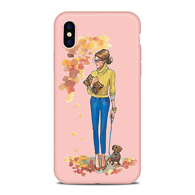Fantasia iPhone cagnolino Per 06639302 X Apple disegno iPhone iPhone Per 8 Plus iPhone Con TPU per retro Custodia Sexy Cartoni Morbido animati X zEqf0w747