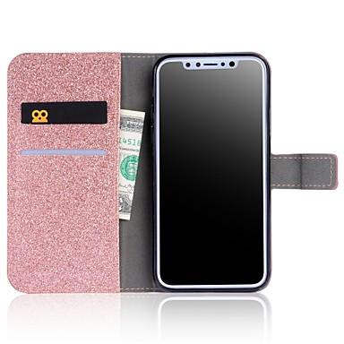 iPhone Integrale unita X Glitterato Apple Porta portafoglio Con Custodia iPhone Per 8 Tinta 06644150 A carte Resistente supporto di Plus credito aEf4q